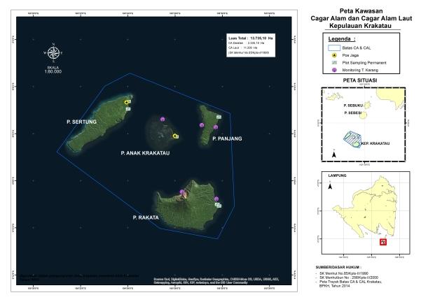 Peta Kawasan CA & CAL Krakatau A3
